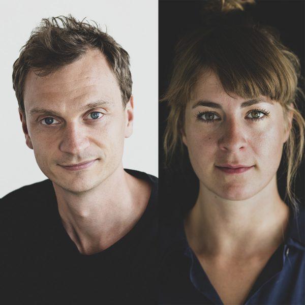 Duoen bag Fluks.Agency består af Camille Henningsen og Lasse Lundberg Andreasen